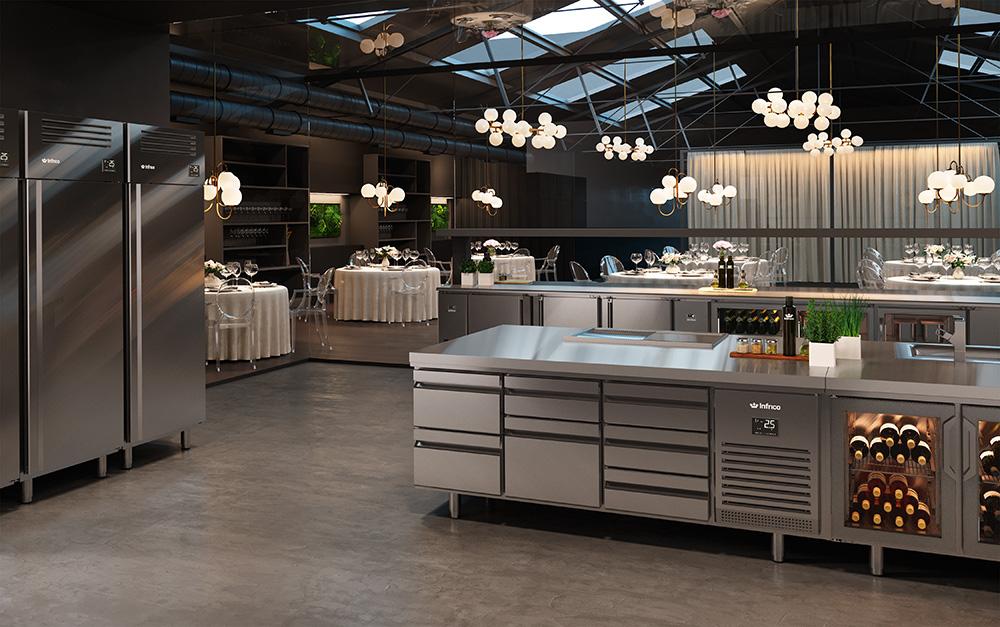 mesas refrigeradas Infrico